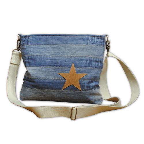 Jeans-Tasche Rock on mixed